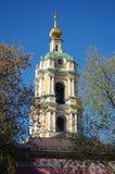 MOSKVA RYSSLAND - September 23, 2015: Novospassky kloster Royaltyfri Foto
