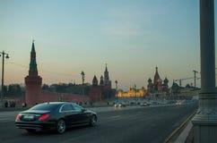 Moskva Ryssland - stor Moskvoretsky br Fotografering för Bildbyråer