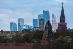 Moskva-stad Royaltyfria Foton