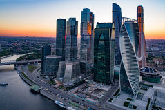 Moskva-stad Royaltyfri Fotografi