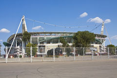 Moskva stadion Lokomotiv Arkivbild