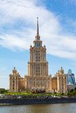 Moskva Stalin skyskrapa Royaltyfria Foton