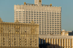 Moskvaarkitektur Fotografering för Bildbyråer