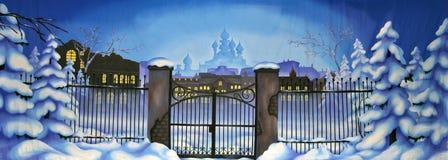 Moskvabakgrund Royaltyfri Fotografi