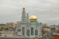 Moskvadomkyrkamoské Royaltyfri Fotografi