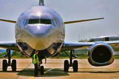 Moskvaflygplats Domodedovo Royaltyfri Fotografi