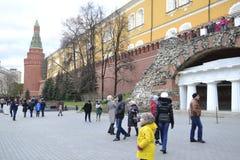 Moskvagata Royaltyfri Bild