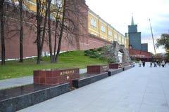 Moskvagata Royaltyfri Foto