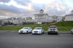 Moskvagata Arkivbild