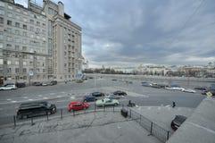 Moskvagata Fotografering för Bildbyråer