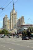 Moskvagata Juli grejar småhuset på stranden Royaltyfria Bilder