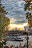Moskvahöst Royaltyfri Fotografi