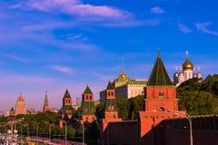 MoskvaKreml Arkivfoto