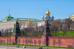 MoskvaKreml arkivbild