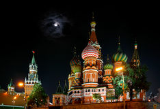 MoskvaKreml Royaltyfri Foto