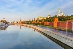 MoskvaKreml i morgonen, Ryssland Royaltyfria Foton