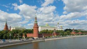 MoskvaKreml på en solig dag Arkivbild