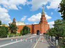 MoskvaKreml på en solig dag Royaltyfri Fotografi