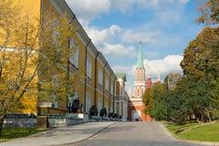 MoskvaKreml på en solig dag Fotografering för Bildbyråer
