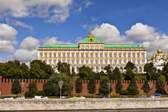 MoskvaKreml storslagna slott Fotografering för Bildbyråer