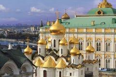 MoskvaKremldomkyrka Royaltyfri Bild