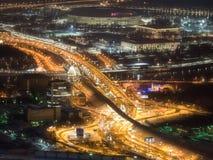 Moskvanatt 354 meter arkivfoto