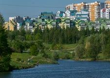 Moskvasemesterfläckar Arkivbild