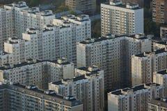 Moskvasikt från det Ostankino tornet Royaltyfri Fotografi