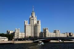 Moskvaskyskrapa Royaltyfri Bild