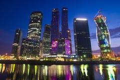 Moskvastad  Royaltyfri Fotografi