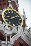 Moskvastad i realtids, royaltyfri bild