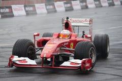 Moskvastad Racing Royaltyfri Bild