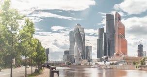 Moskvastadssikt stock video