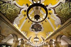 Moskvatunnelbana Arkivfoton