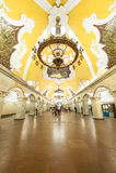 Moskvatunnelbana Arkivbilder