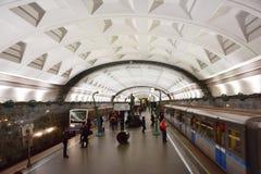 Moskvatunnelbana Royaltyfria Foton