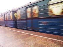 Moskvatunnelbana Fotografering för Bildbyråer