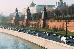 Moskvaväg Royaltyfria Foton