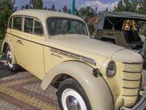 Moskvich-Auto Lizenzfreie Stockfotos