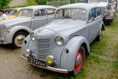 Moskvich 401 vintage car - Stock image Royalty Free Stock Images