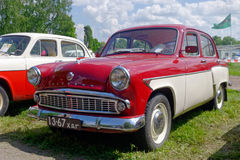 Moskvich 407 vintage car - Stock image Royalty Free Stock Image