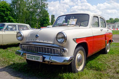 Moskvich 407 vintage car - Stock image Royalty Free Stock Photo