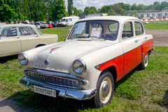Moskvich 407 vintage car - Stock image Stock Image