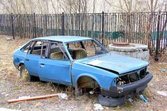 Moskvitch 2141 Stock Photography