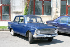 Moskvitch 412 Stock Photography