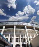 Moskwa areny sportowa dużego stadium Luzhniki Olimpijski kompleks -- Stadium dla 2018 FIFA pucharu świata w Rosja Zdjęcia Stock