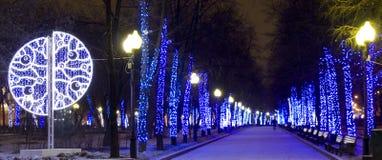 Moskwa boże narodzenia Fotografia Royalty Free