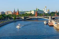 Moskwa centrum widoki Obraz Royalty Free