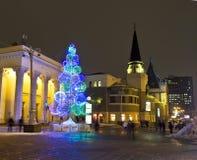 Moskwa, Choinka Zdjęcie Stock