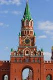 Moskwa cremlin czerwona kopia zdjęcia royalty free